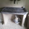 Ref. 26 – Ardeense keukenspoelbak, oude keukenspoelbak foto 2
