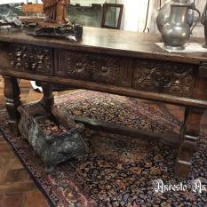 Ref. 21 – Antieke Spaanse dresser tafel, oude Spaanse dresser tafel