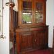 Ref. 41 – Antieke Vlaamse hoekkast vitrine, oude Vlaamse hoekkast vitrine