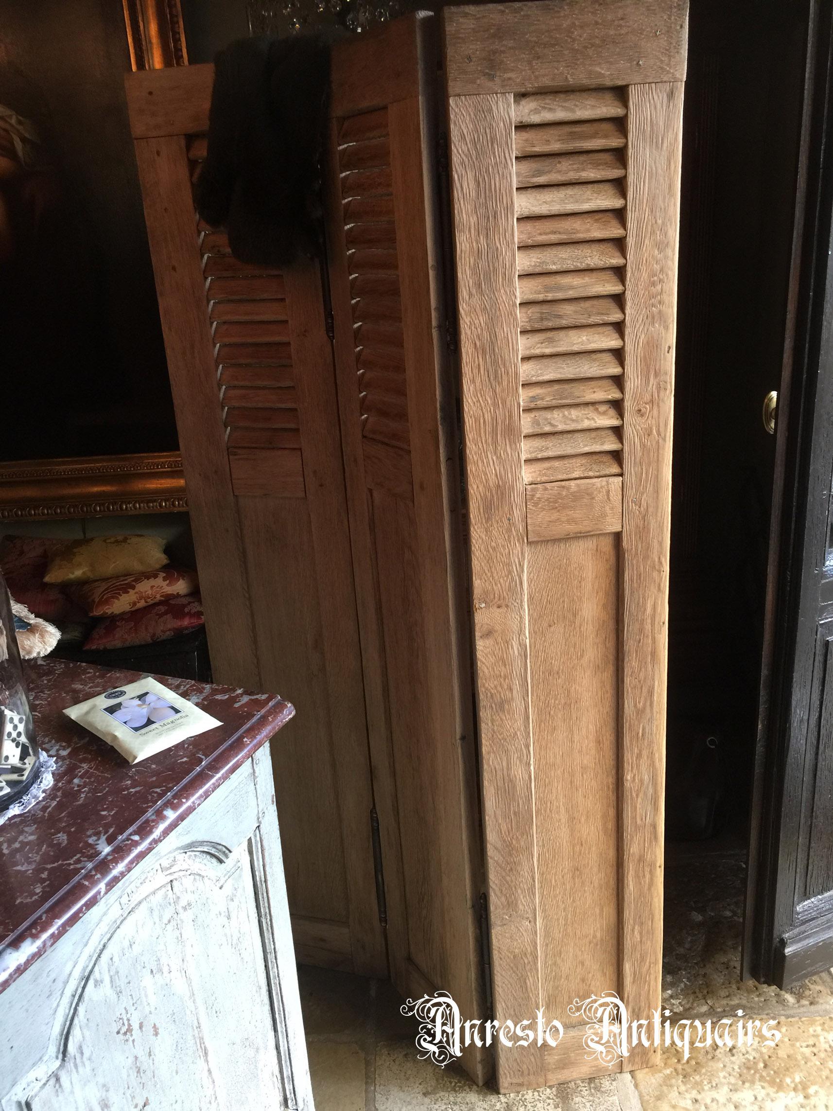 Ref. 19 – Exclusieve binnenluiken op maat uit oud hout