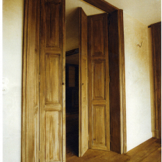 Ref. 22 – Exclusieve binnenluiken op maat uit oud hout