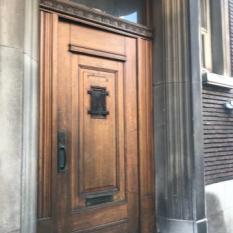 Ref. 55 – Art Deco voordeur, Art Deco buitendeur