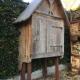 Ref. 22 – Exclusieve houten tuinkast op uw maat gemaakt met oud hout