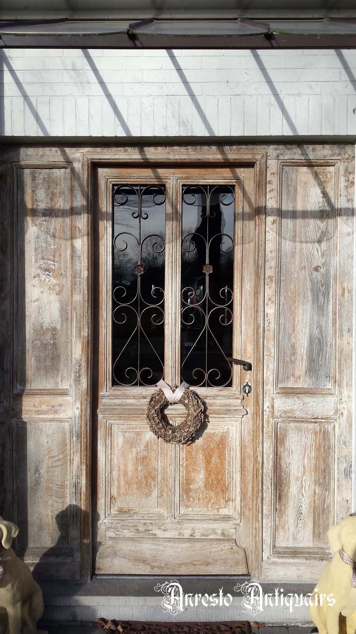 Ref. 44 – Exclusieve deur wordt op uw maat gemaakt met oud hout