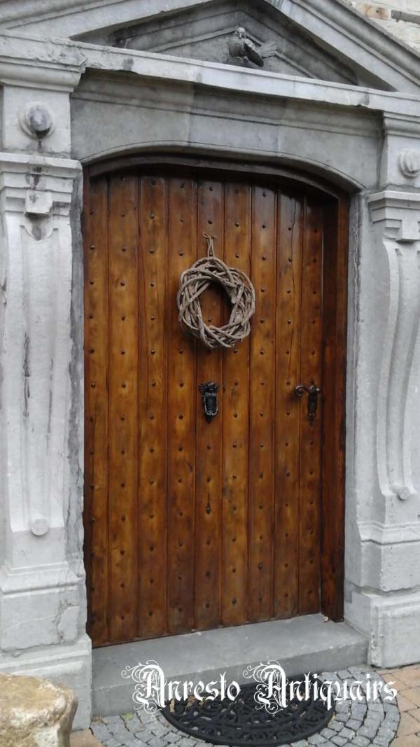 Ref. 45 – Exclusieve deur wordt op uw maat gemaakt met oud hout