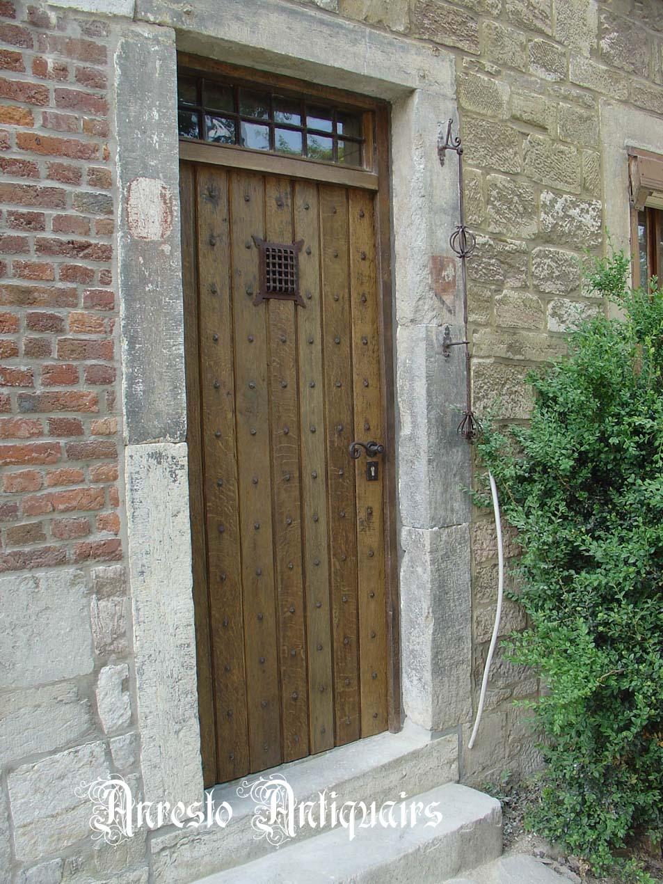 Ref. 46 – Exclusieve deur wordt op uw maat gemaakt met oud hout