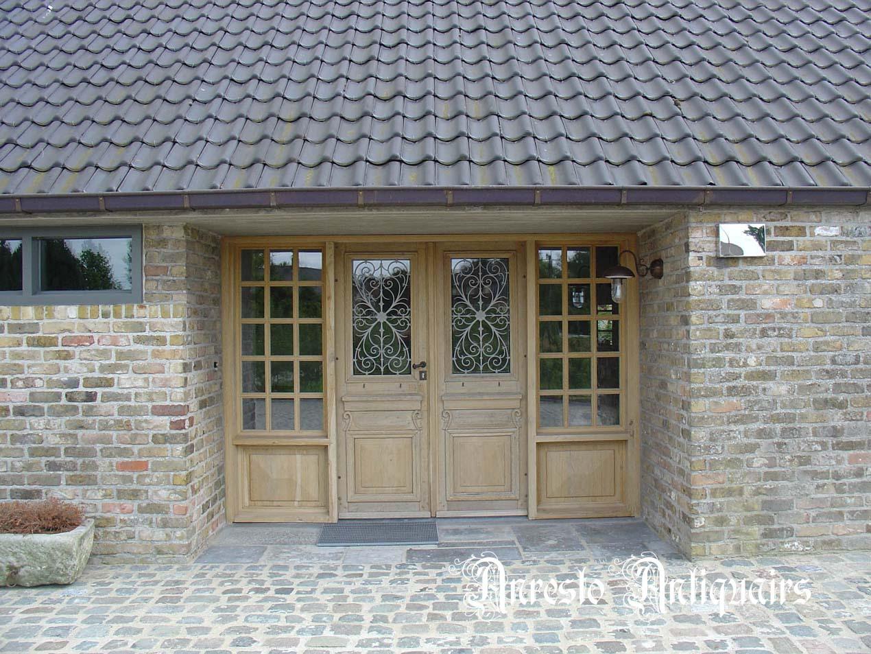 Ref. 48 – Exclusieve deur wordt op uw maat gemaakt met oud hout
