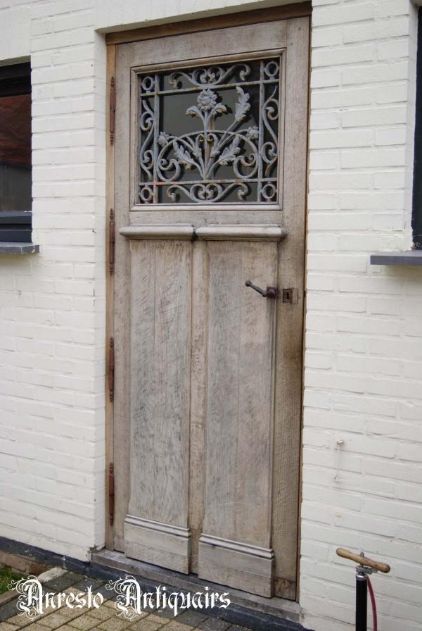 Ref. 51 – Exclusieve deur wordt op uw maat gemaakt met oud hout