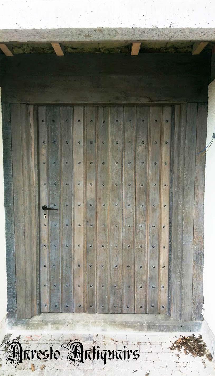 Ref. 53 – Exclusieve deur wordt op uw maat gemaakt met oud hout