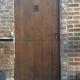 Ref. 54 – Exclusieve deur wordt op uw maat gemaakt met oud hout
