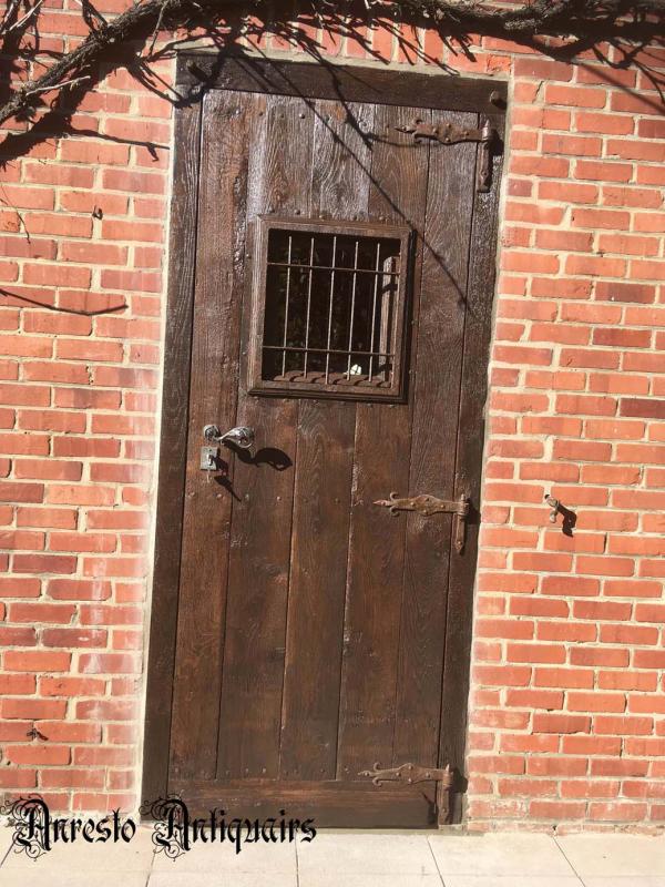 Ref. 55 – Exclusieve deur wordt op uw maat gemaakt met oud hout