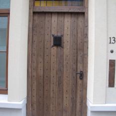 Ref. 57 – Exclusieve deur wordt op uw maat gemaakt met oud hout