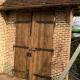 Ref. 59 – Exclusieve deur wordt op uw maat gemaakt met oud hout