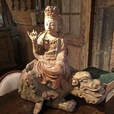 Ref. 27 – Antieke Chinese Boeddha, oude Chinese Boeddha