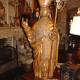Ref. 31 – Antiek houten bisschop beeld, oud houten beeld