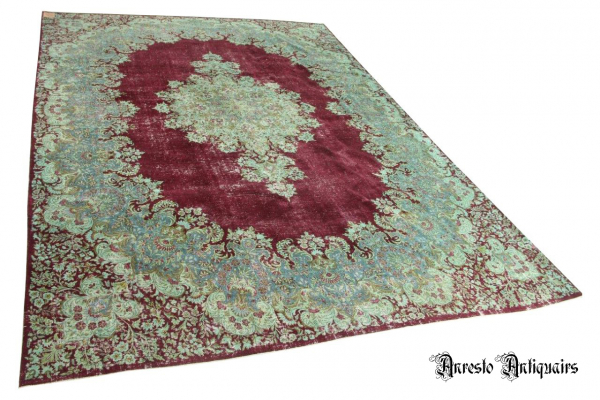 Ref. 44 – Antiek tapijt, oud vloerkleed