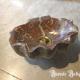 Ref. 30 – Marmeren handwasbakje in schelpenvorm, marmeren spoelbakje in schelpenvorm