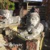 Ref. 39 – Oude stenen Sfinxen materiaal is composiet foto 2