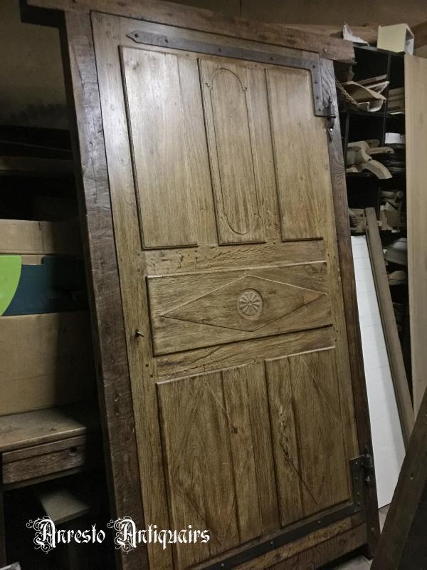 Ref. 76 – Antieke binnendeur, oude buitendeur