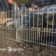 Ref. 37 – Oude smeedijzeren tuinpoort, oude ijzeren poort