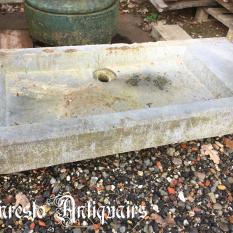Ref. 46 – Antieke arduinen spoelbak, oude arduinen wasbak
