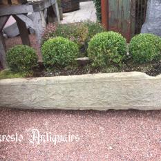 Ref. 52 – Antieke trog , oude stenen trog