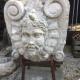 Ref. 54 – Antieke stenen sater, oude stenen saterkop