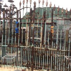 Ref. 56 – Antieke smeedijzeren poort foto 1