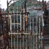 Ref. 56 – Antieke smeedijzeren poort foto 2