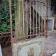 Ref. 61 – Antieke Franse tuinpoort, oude Franse ijzeren poort