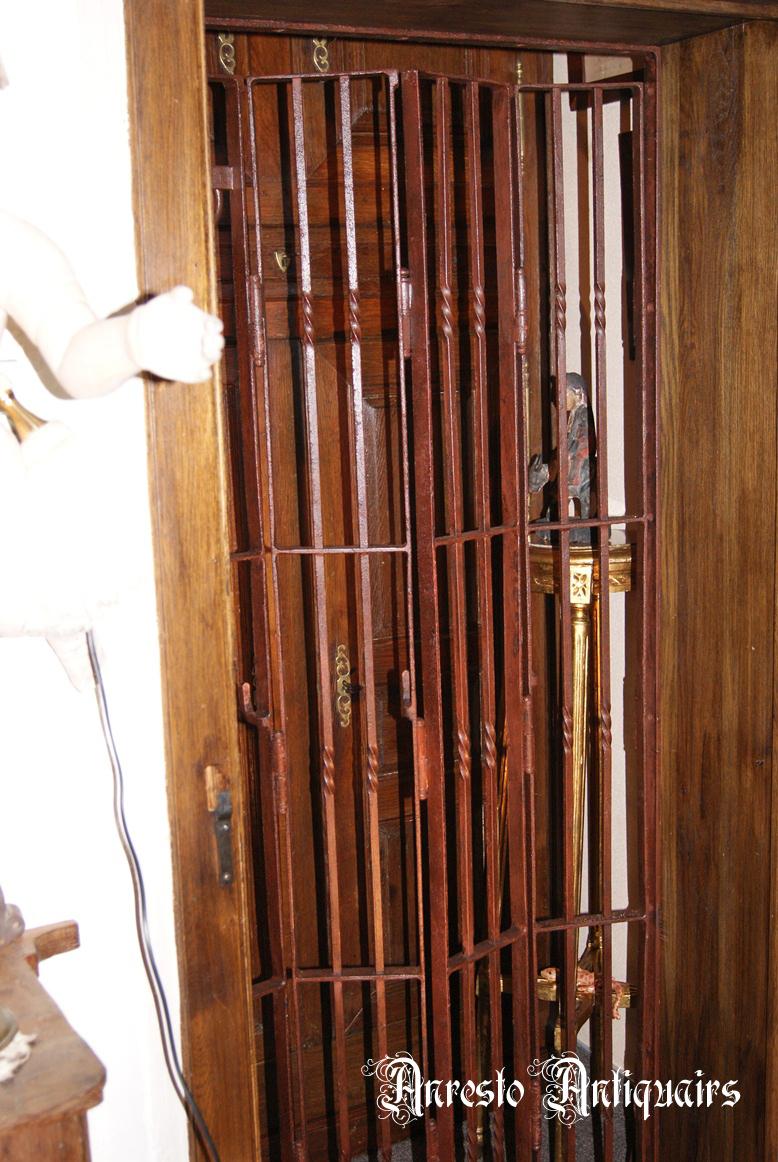 Ref. 62 – Opvouwbare smeedijzeren beveiligingshekken foto 1