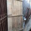 Ref. 77 – Antieke houten buitendeur, oude houten voordeur foto 2