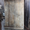 Ref. 78 – Antieke landelijke houten buitendeur, oude landelijke houten voordeur foto 2