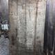 Ref. 78 – Antieke landelijke houten buitendeur, oude landelijke houten voordeur foto 1