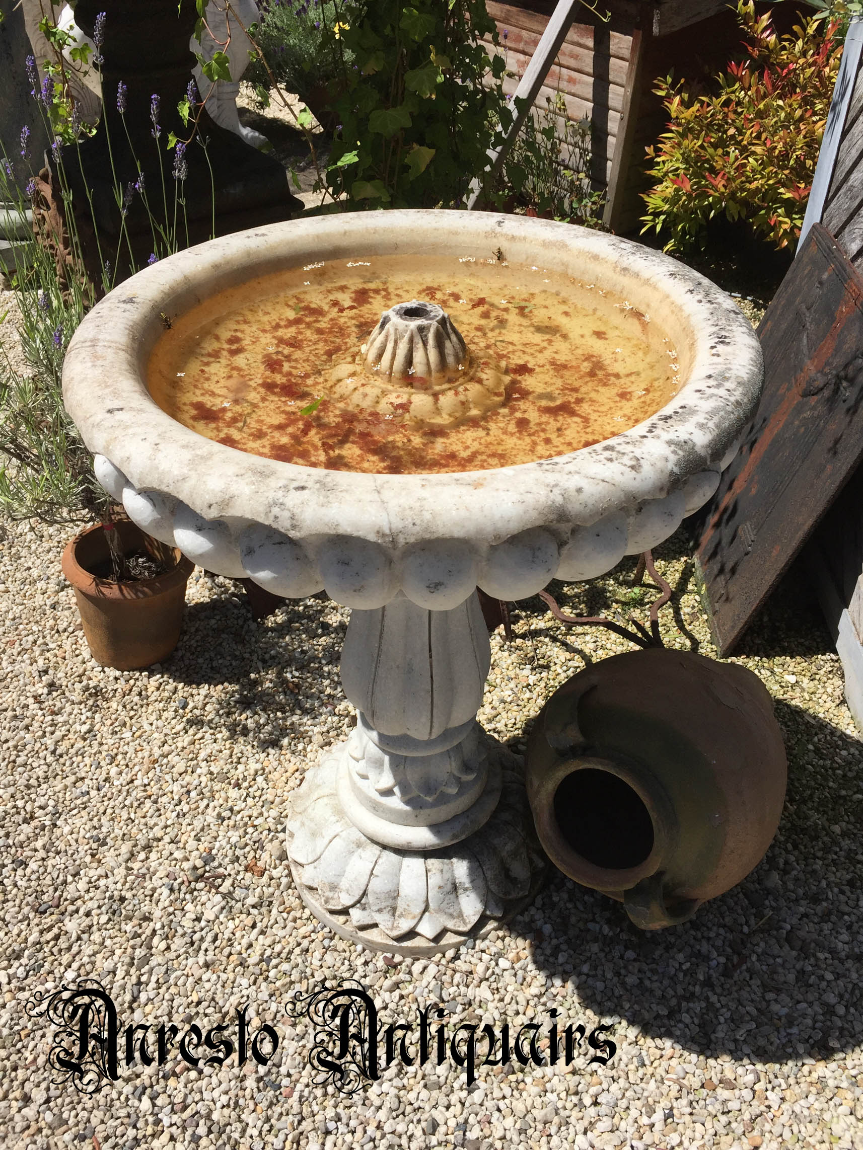 Ref. 10 – Antieke tuinfontein, oude tuinfonteinen