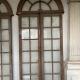 Ref. 13 – Antieke eikenhouten porte-fenêtre ramen, oude houten raam deuren
