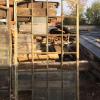 Ref. 15 – Antieke gietijzeren loftramen, oude ijzeren loftramen foto 2
