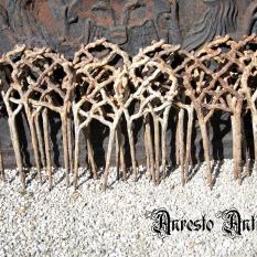 Ref. 26 – Antieke gietijzeren perkijzers