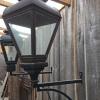 Ref. 49 – Exclusieve Hollandse grachtenpand lampen, Hollandse koperen wandlantaarns foto 2