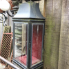 Ref. 50 – Oude Hollandse wandlantaarns, oude koperen muurlantaarns foto 2