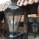 Ref. 54 – Exclusieve Hollandse tuinlamp voor een grachtenpand, Hollandse koperen wandlantaarn
