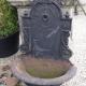 Ref. 58 – Antieke gietijzeren fontein, oude ijzeren fontein