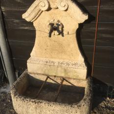 Ref. 63 – Barok muurfontein, stenen tuinfontein