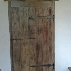 Ref. 70 - Exclusieve deur wordt door ons op maat gemaakt met oud hout.