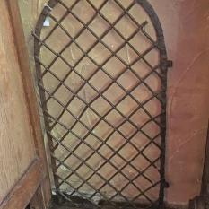 Ref. 71 – Antieke Vlaamse ijzeren nis poort