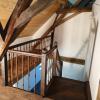 Ref. 18 – Antieke eikenhouten trap foto 3
