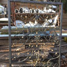 Ref. 78 – Smeedijzeren poort foto 1