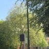 Ref. 65 – Antieke gietijzeren onderstellen voor Brusselse lantaarnpalen foto 2