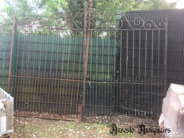 Ref. 92 – Exclusieve landelijke smeedijzeren poort