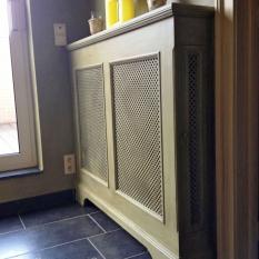 Ref. 20 – Exclusieve eikenhouten radiatorafkasting